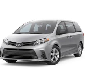 Аккумулятор на Toyota Sienna (Тойота Сиенна)