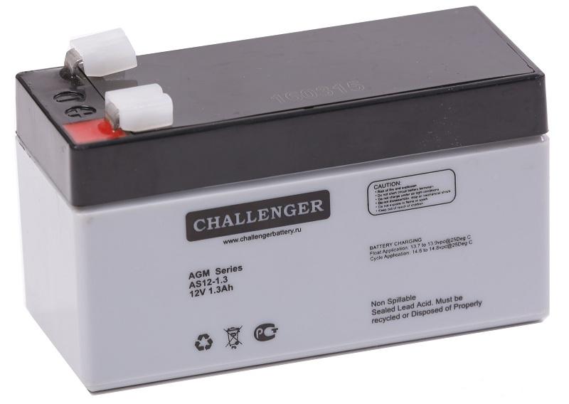 Купить Аккумуляторная батарея Challenger AS12-1.3 12v 1.3Ah