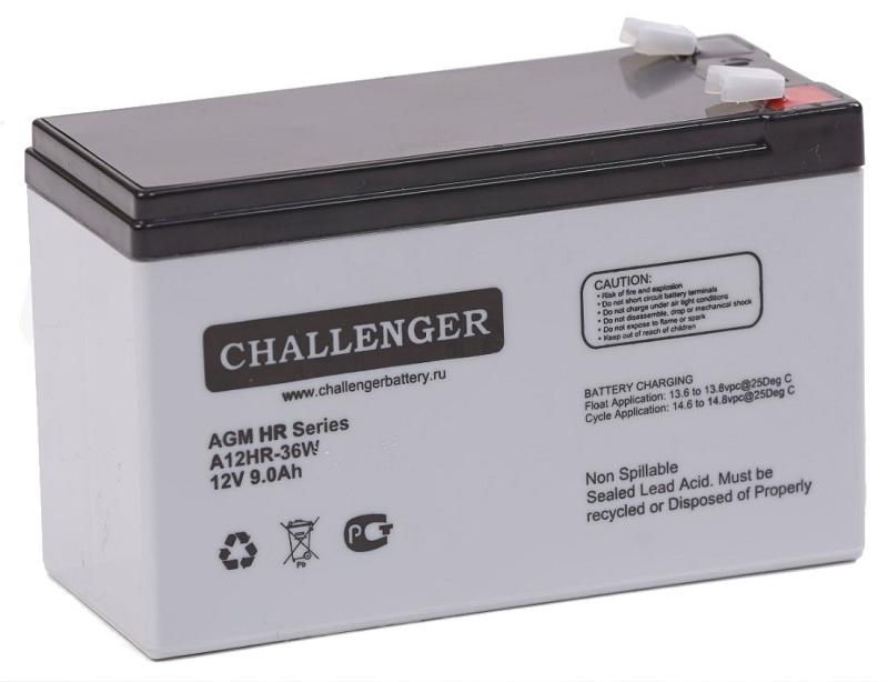 Купить Аккумуляторная батарея Challenger A12HR-36W 12v 9Ah