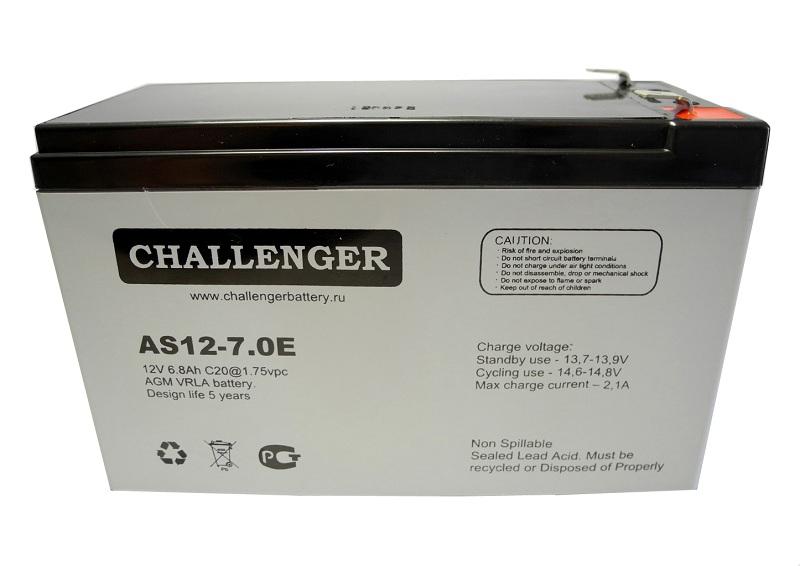 Купить Аккумуляторная батарея Challenger AS12-7.0Е 12v 7Ah