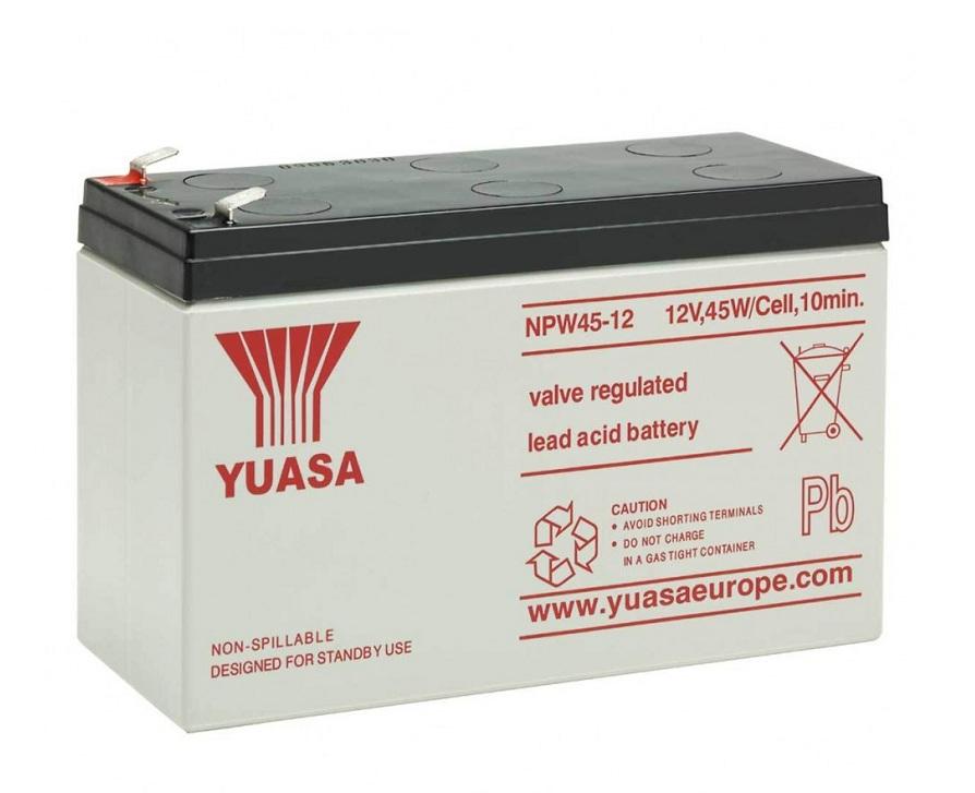Купить Аккумуляторная батарея Yuasa NPW45-12 12v 9Ah