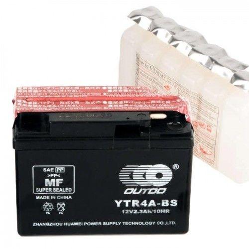Купить Аккумулятор таблетка на Yamaha / Suzuki YTR4A-BS 2,3Ah 45A
