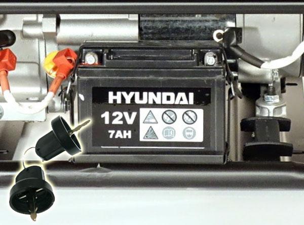 Аккумулятор на бензиновый генератор 6MF-7ah