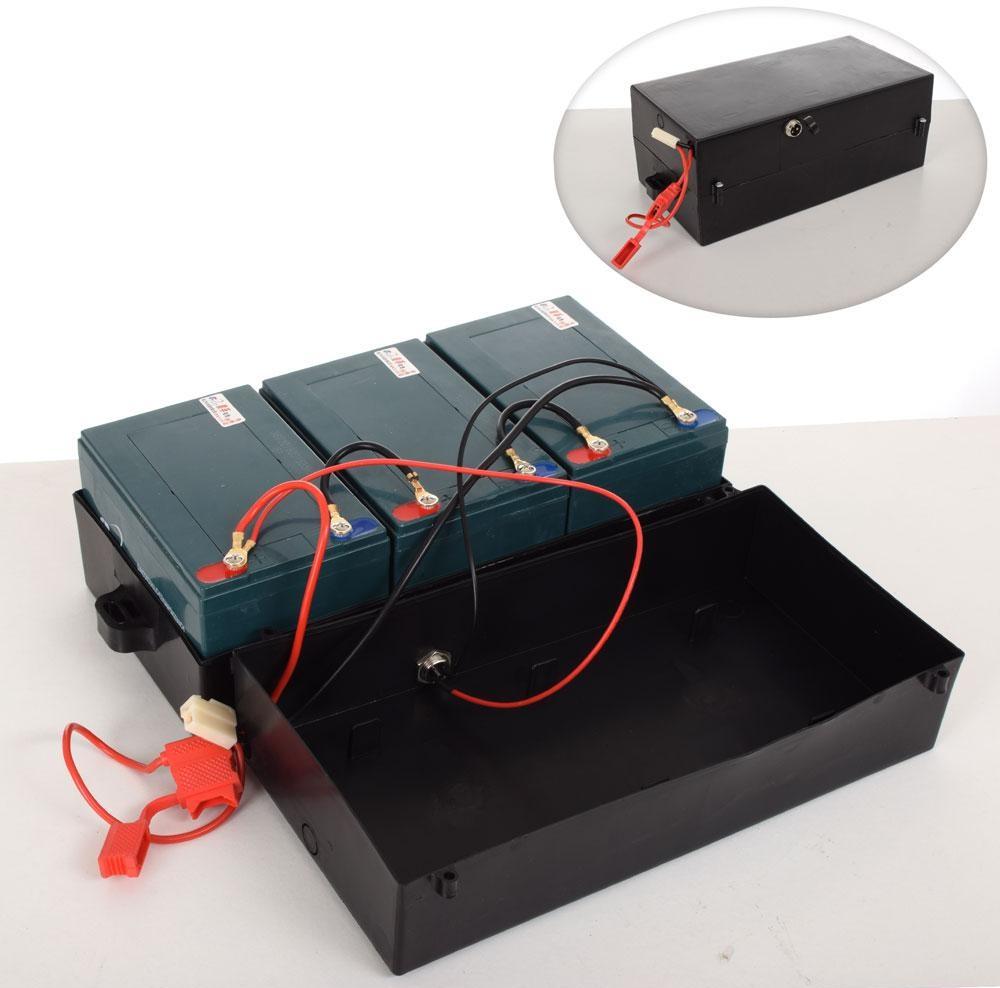 Купить Комплект тяговых аккумуляторов  для электроквадроциклов 36V GEL 12v 12Ah