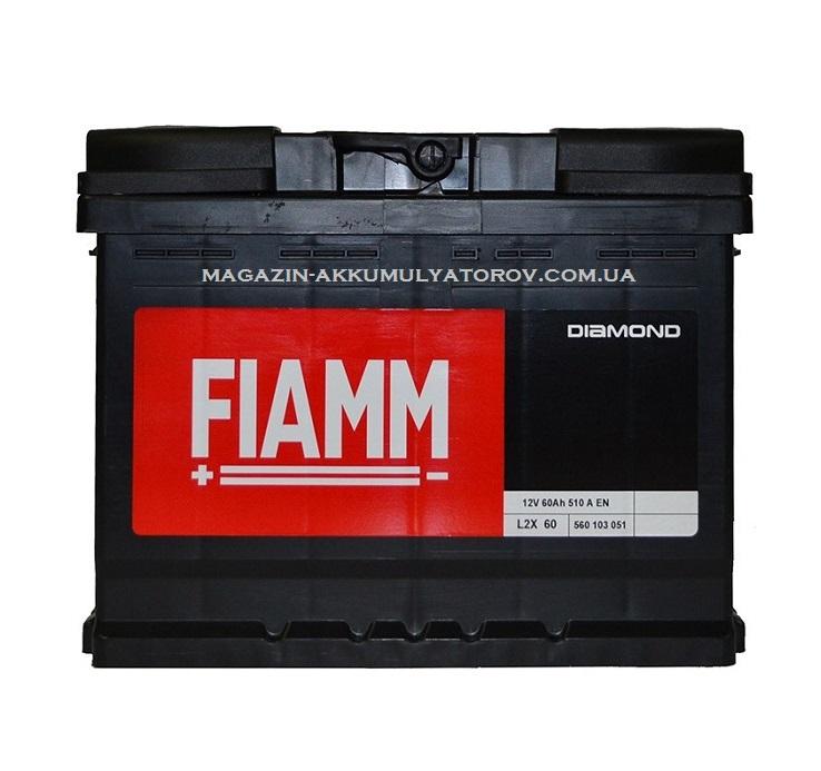 Купить Fiamm Diamond  L2X 60Ah 510А