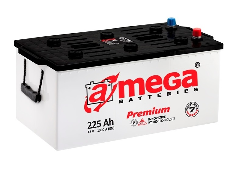 Купить A-MEGA PREMIUM 225Ah 1300A