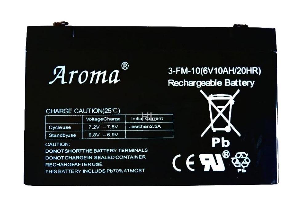 Аккумулятор 3-FM-10(6v10AH/20HR) на детский электромобиль