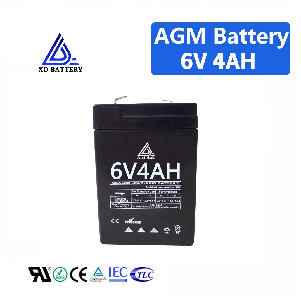 Аккумулятор 6v 4Ah на электронные товарные весы 3-FM4AH/20HR