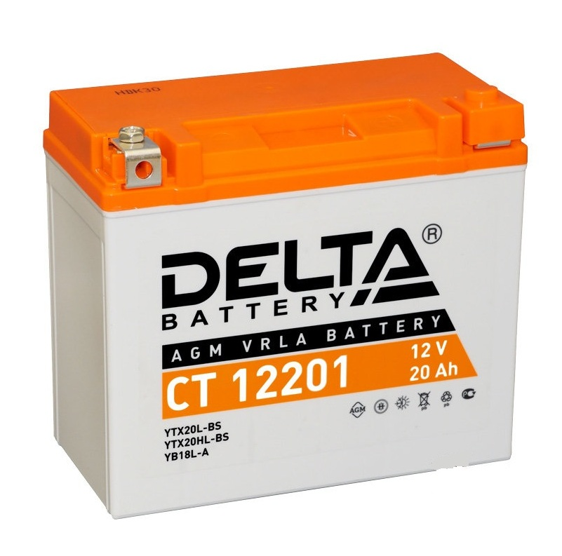 Купить Аккумулятор на генератор 12v 20Ah 270A