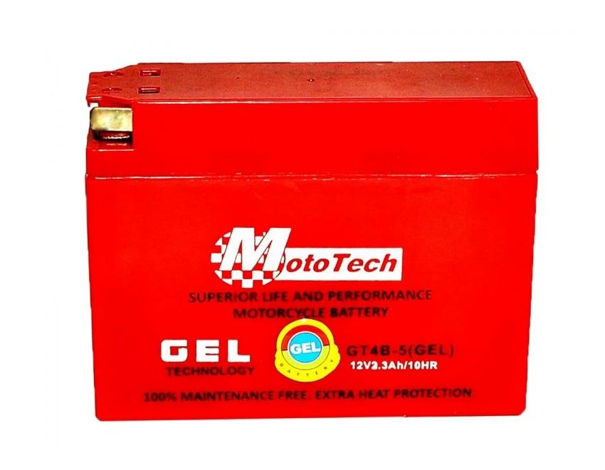 Аккумулятор на YAMAHA/SUZUKI GT4B-5 12v 2.3Ah