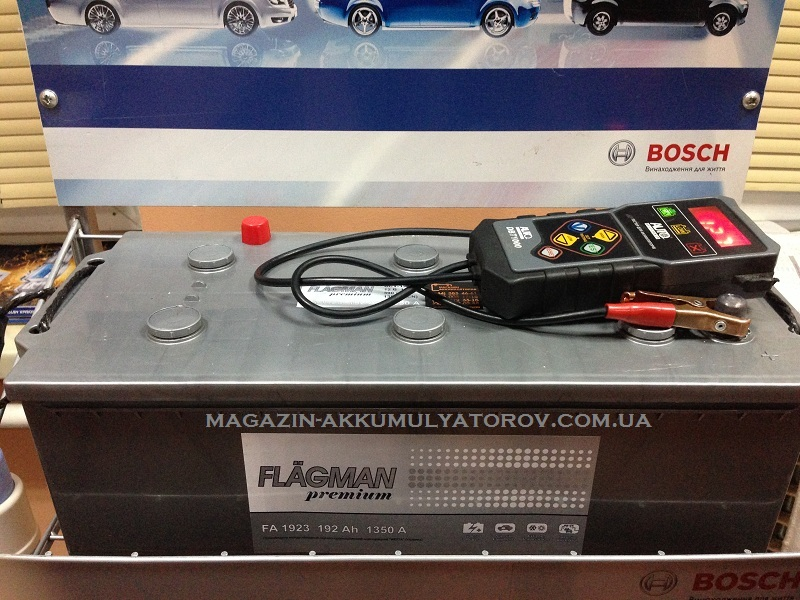 Купить FLAGMAN 6CT-192 Ач 1350А