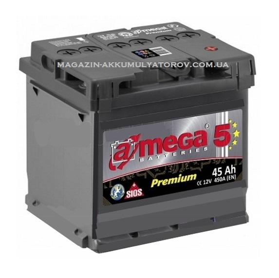 Купить A-MEGA Premium 45Ah 450A R
