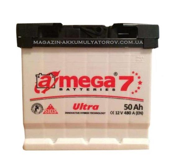 Купить A-MEGA Ultra 50Ah 480A