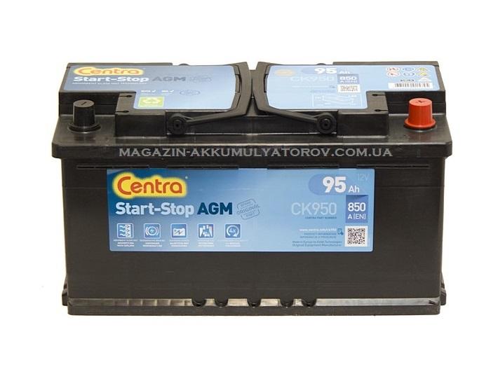 Купить Centra AGM Start Stop CK950 95Ah 850A