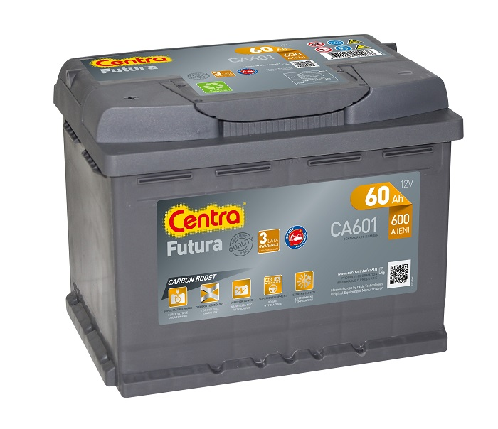 Купить Centra Futura 60Ah 600A