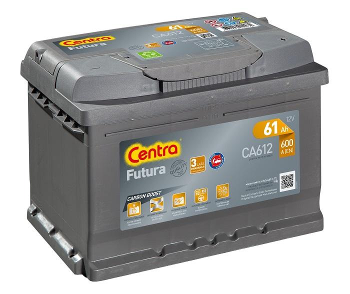 Купить Centra Futura CA612 61Ah 600A