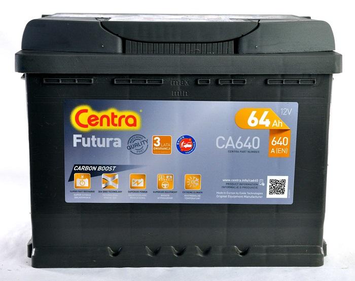 Купить Centra Futura CA640 64Ah 640A