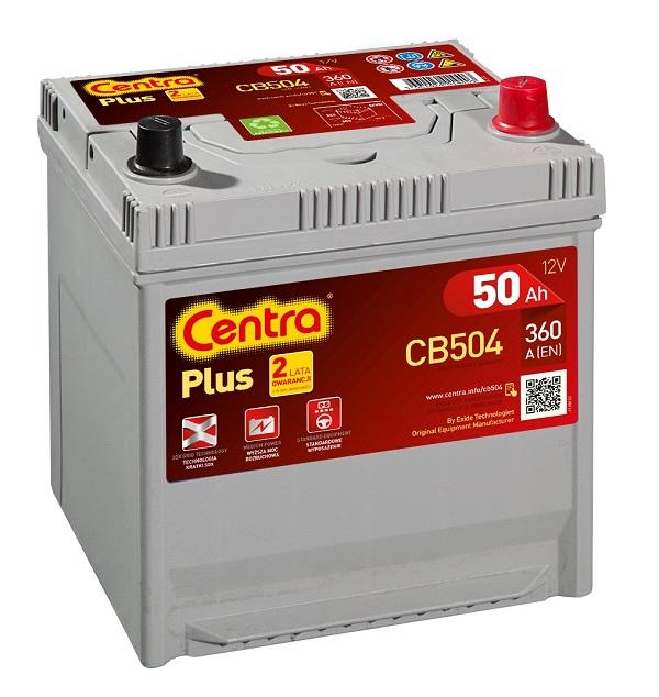 Купить Centra Plus CB504 50Ah 360A