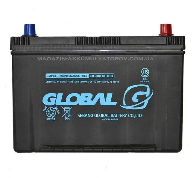 Купить GLOBAL SMF NX120-7L 90Ah 760A