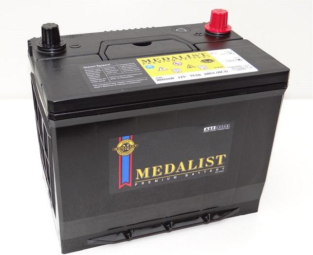 Купить MEDALIST PREMIUM 80D26R 75Ah 680A