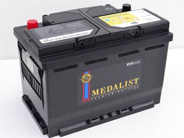 Купить MEDALIST PREMIUM M57412 74Ah 680A