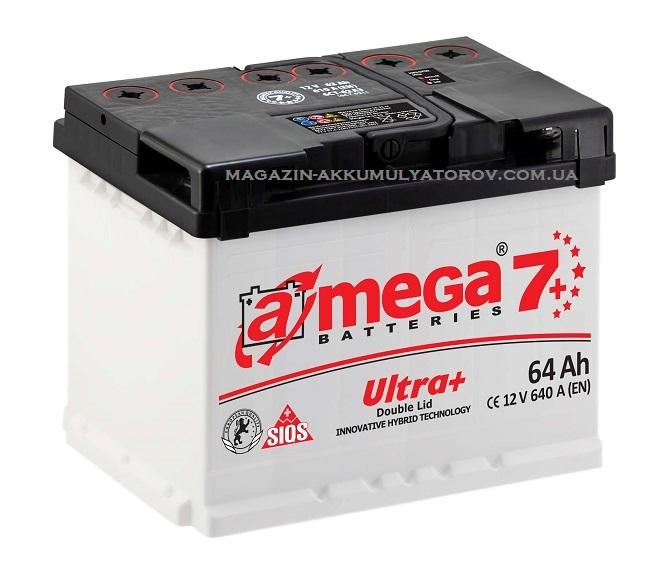 Купить A-MEGA Ultra 64Ah 640A