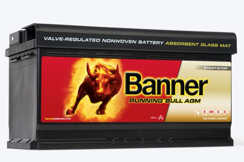Купить BANNER RUNNING BULL AGM 592 01 92Ah 850A