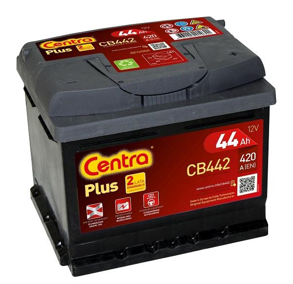 Купить Centra Plus CB442 44Ah 420A