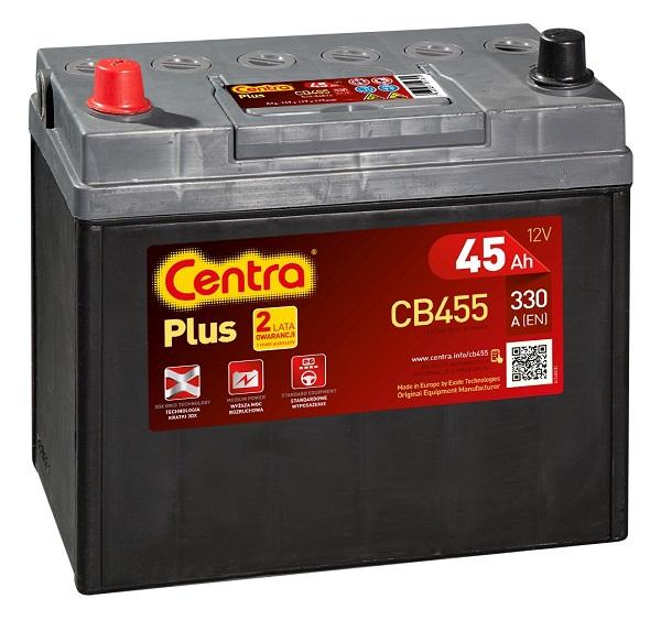Купить Centra Plus CB455 45Ah 330A
