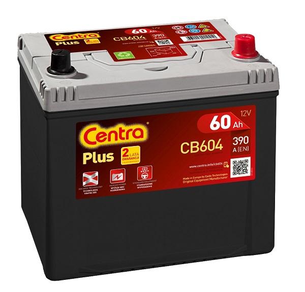 Купить Centra Plus CB604 60Ah 390A