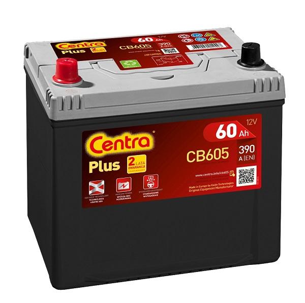 Купить Centra Plus CB605 60Ah 390A