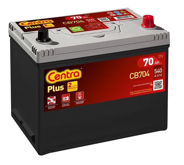 Купить Centra Plus CB704 70Ah 540A