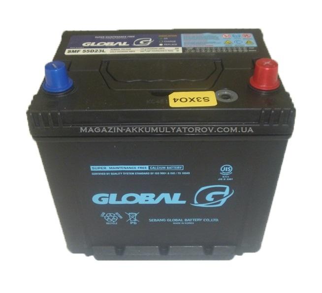 Купить GLOBAL SMF 55D23L 60Ah 500A