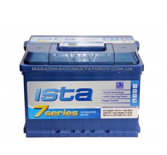 Купить ISTA 7 SERIES 60Ah 600A R