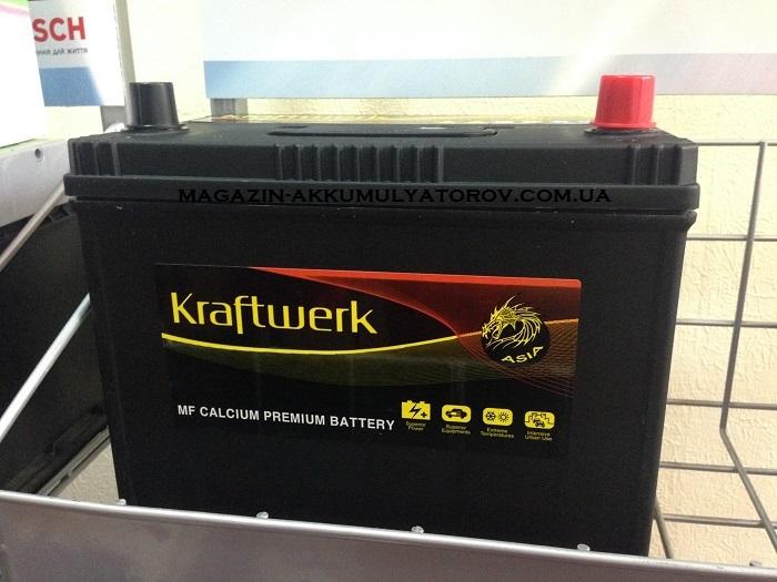 Купить KRAFTWERK PREMIUM 105D26L 85Ah 720A L