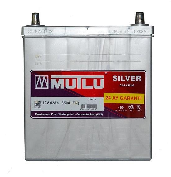 Купить Mutlu Mega Calcium 42Ah 350A R