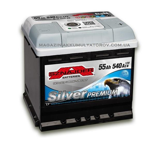 Купить SZNAJDER Silver Premium 55Ah 540A