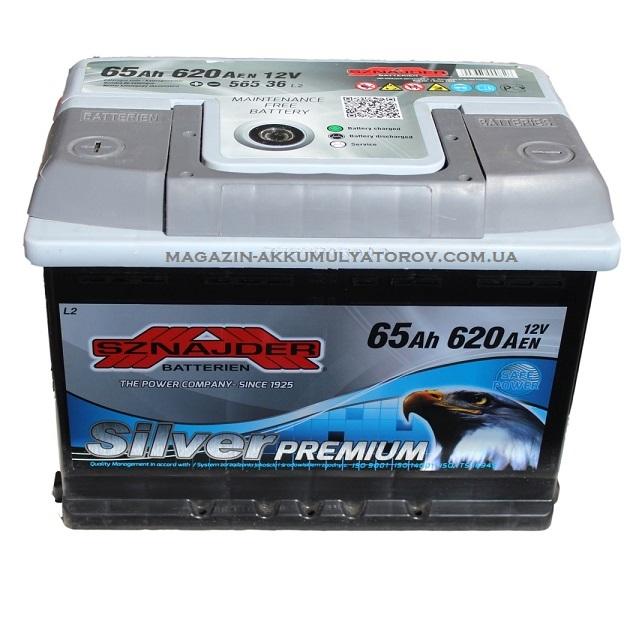 Купить SZNAJDER Silver Premium 65Ah 620A
