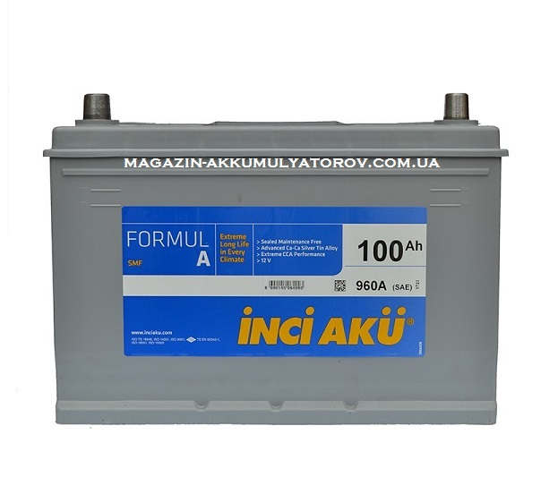 Купить INCI ACU 100Ah 960A R