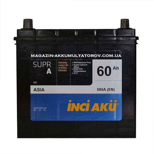 Купить INCI ACU 60Ah 580A R