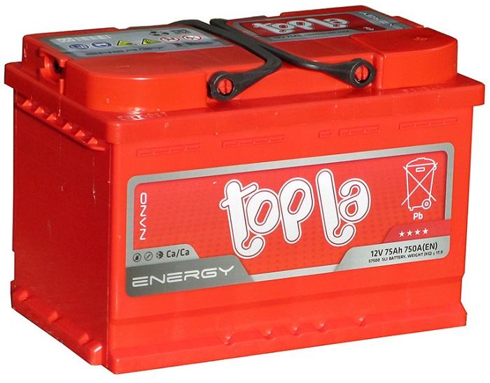 Купить Topla Energy 75Ah 750A