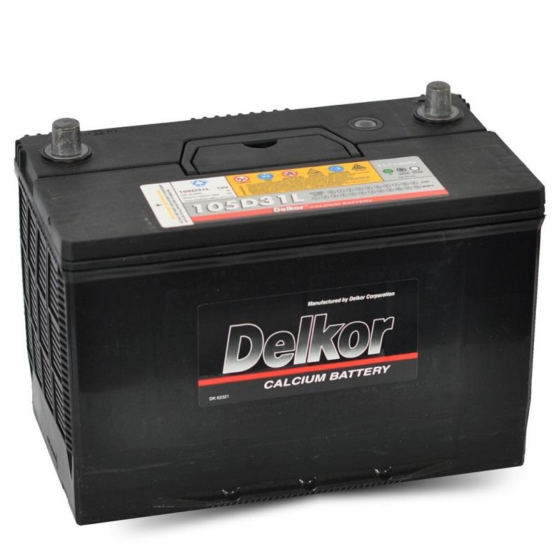 Купить DELKOR PREMIUM 105D31L 90Ah 780A