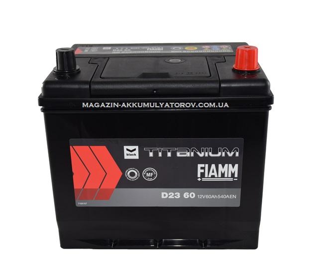Купить FIAMM TITANIUM D23 60Ah 540A