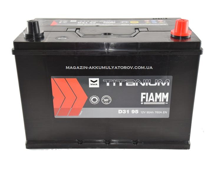 Купить FIAMM TITANIUM D31 95Ah 760A
