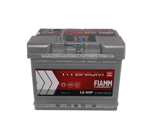 Купить FIAMM TITANIUM Pro L260P 60Аh 540А