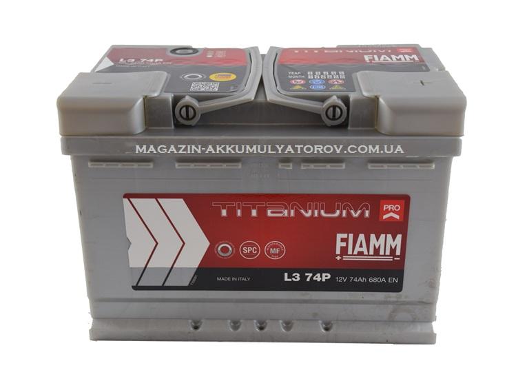 Купить Fiamm Titanium Pro L374P 74Ah 680A