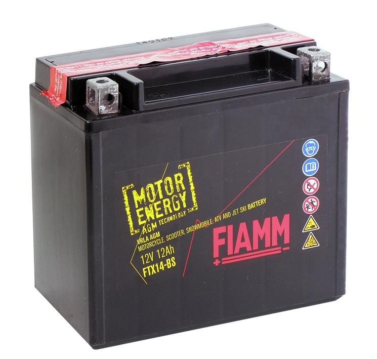 Купить FIAMM FTX14-BS 12Ah 170A