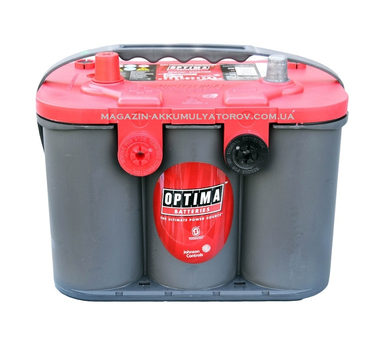 avto-akkumulyator-optima-agm-red-top-rtu-4-2l-50ah-815a-MAZDA-MITSUBISHI-Jeep-ACURA_LEXUS_Infiniti_Toyota-HONDA