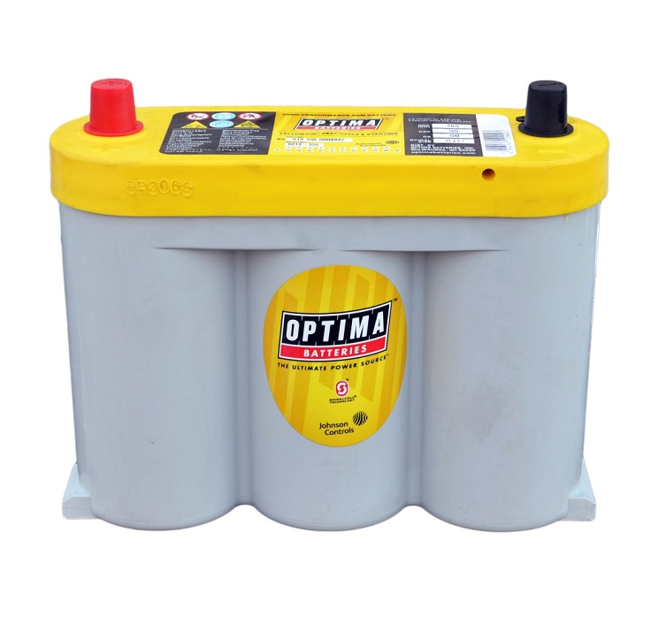 Купить OPTIMA AGM Yellow Top YT6VL-2.1L 55Ah 765A