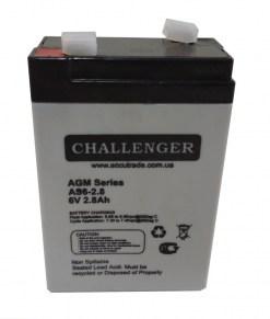 Аккумуляторная-батарея-Challenger-AS6-2.8-6v-2.8Ah